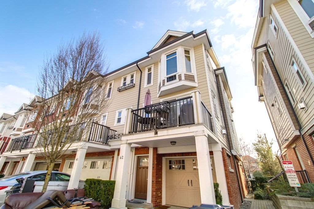 "Main Photo: 42 20738 84 Avenue in Langley: Willoughby Heights Townhouse for sale in ""YORKSON CREEK"" : MLS®# R2248825"