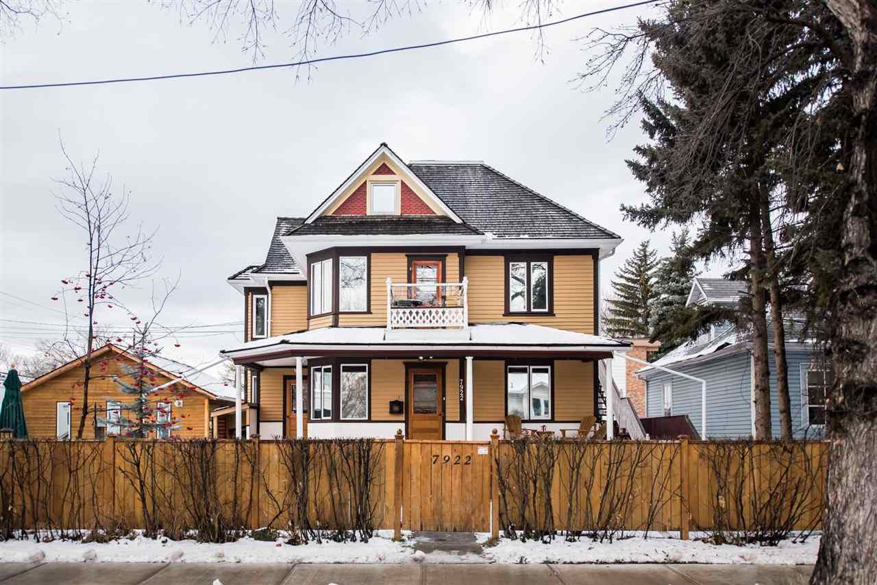 Main Photo: 7922 106 Street in Edmonton: Zone 15 House for sale : MLS®# E4136228