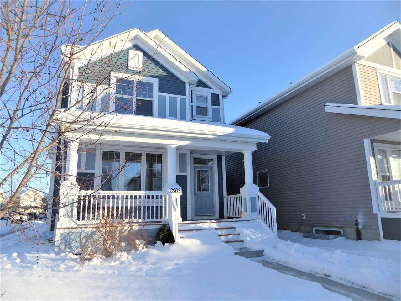 Main Photo: 2003 74 Street SW in Edmonton: Zone 53 House for sale : MLS®# E4138046