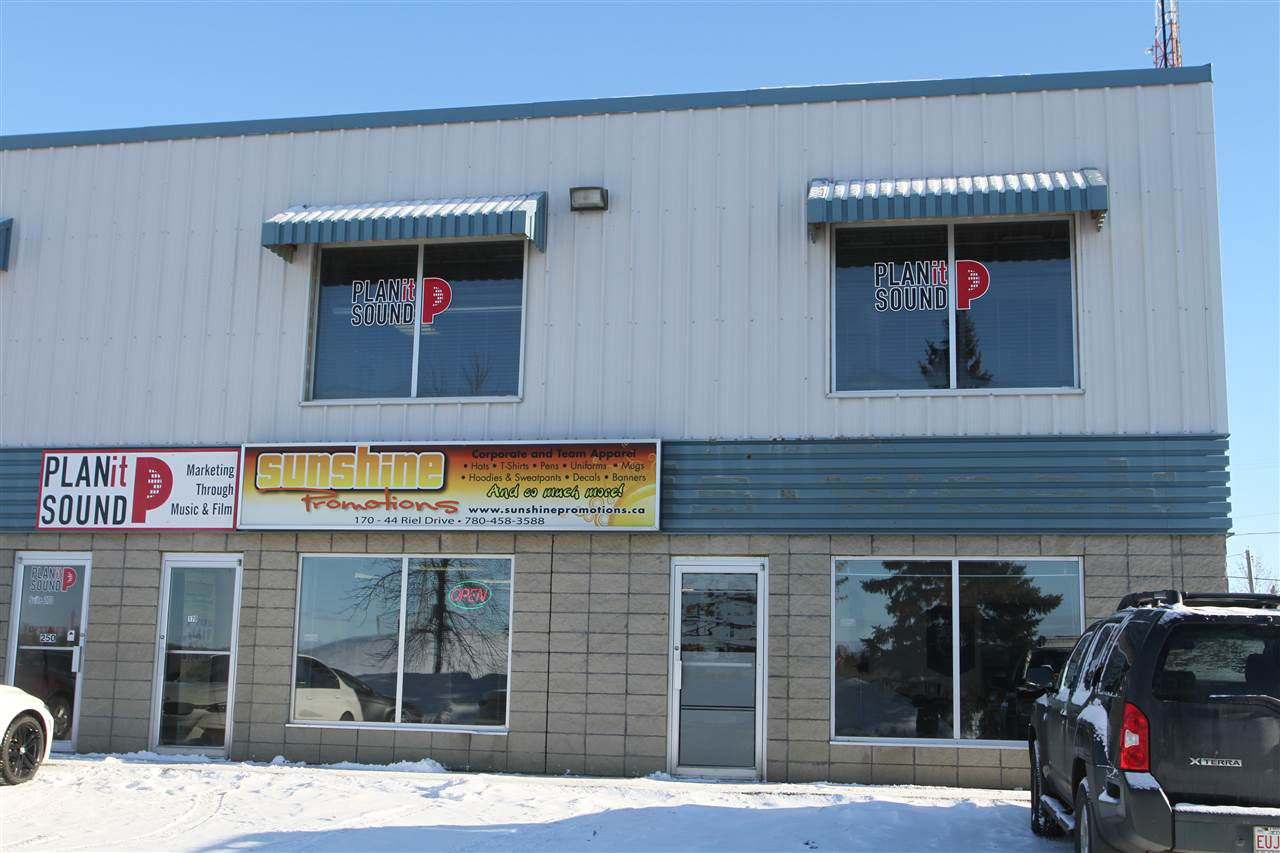 Main Photo: 270 44 Riel Drive: St. Albert Industrial for lease : MLS®# E4141400