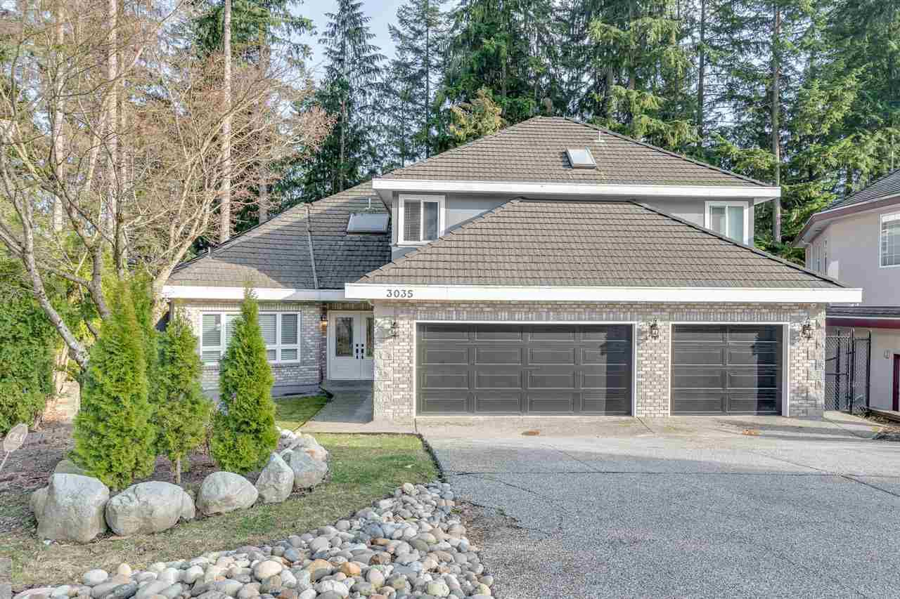 Main Photo: 3035 BRISTLECONE Court in Coquitlam: Westwood Plateau House for sale : MLS®# R2351208