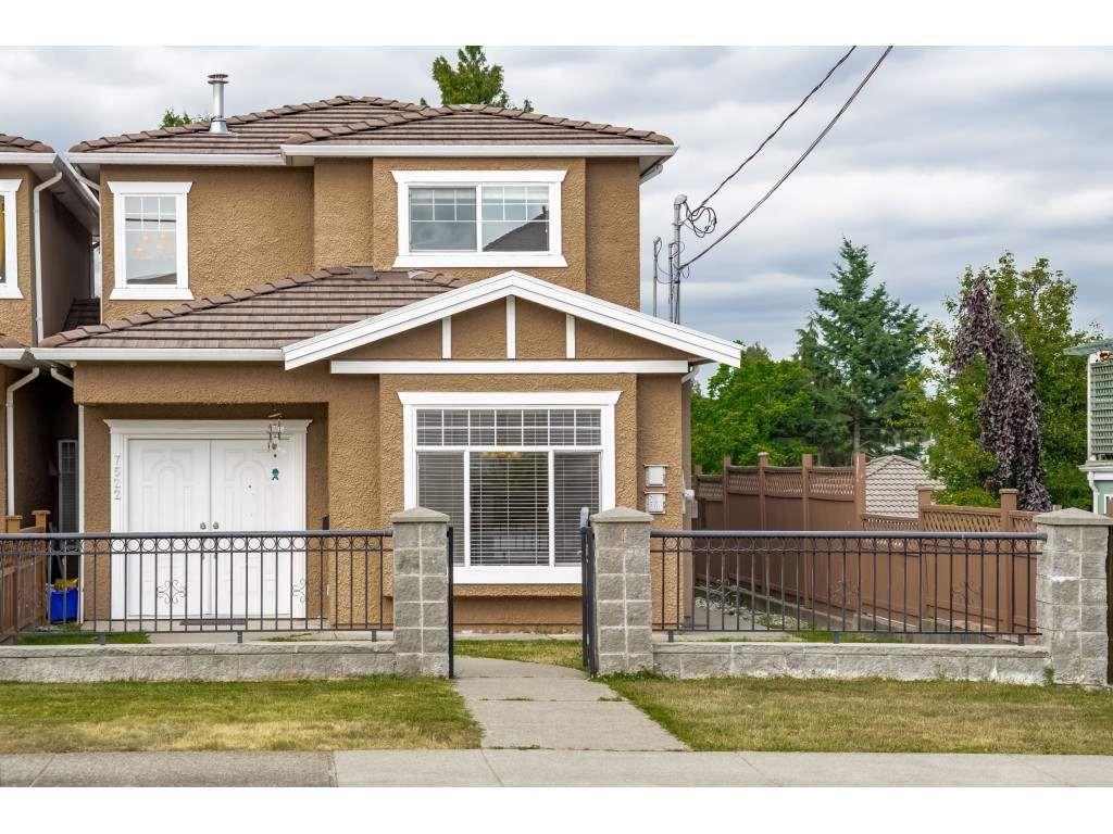 Main Photo: 7522 1ST Street in Burnaby: East Burnaby House 1/2 Duplex for sale (Burnaby East)  : MLS®# R2381527