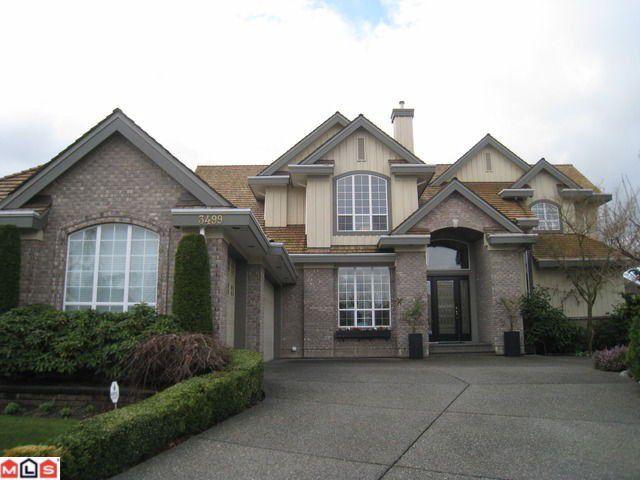 "Main Photo: 3499 CANTERBURY Place in Surrey: Morgan Creek House for sale in ""Morgan Creek"" (South Surrey White Rock)  : MLS®# F1108124"