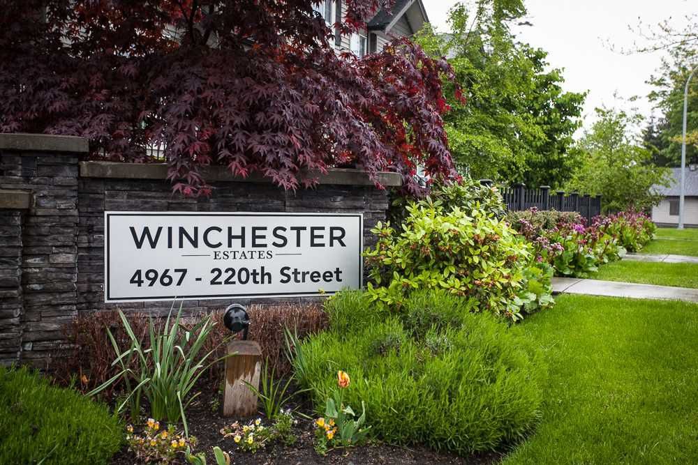 """Main Photo: 63 4967 220 Street in Langley: Murrayville Townhouse for sale in """"Winchester"""" : MLS®# R2166876"""