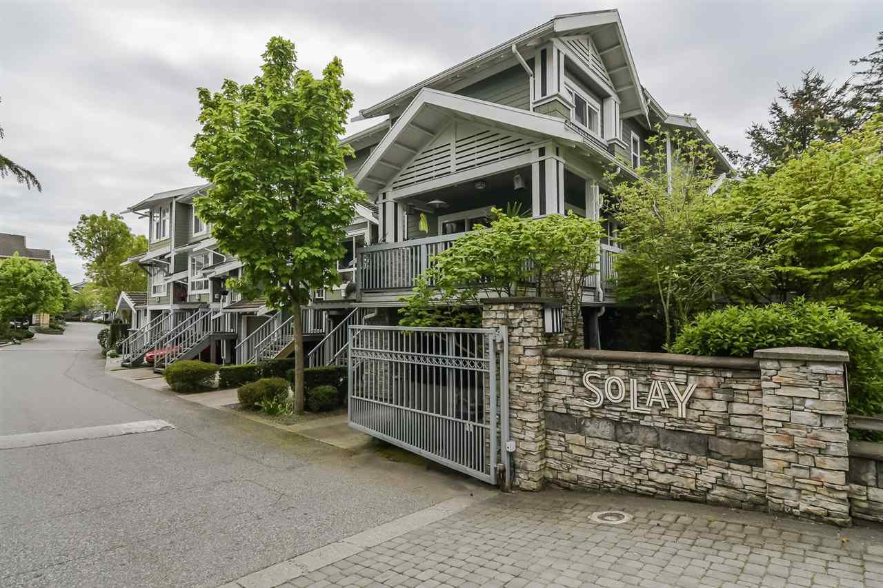 "Main Photo: 158 15168 36 Avenue in Surrey: Morgan Creek Townhouse for sale in ""Solay"" (South Surrey White Rock)  : MLS®# R2273688"