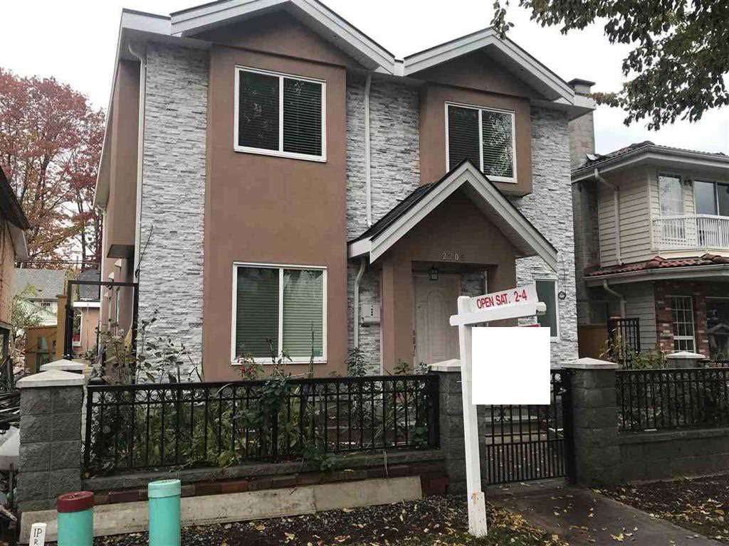 Main Photo: 2205 E 8TH Avenue in Vancouver: Grandview VE House for sale (Vancouver East)  : MLS®# R2324835