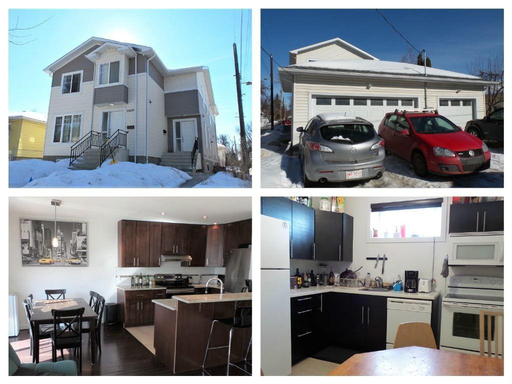 Main Photo: 10611 68 Avenue in Edmonton: Zone 15 House Half Duplex for sale : MLS®# E4147388
