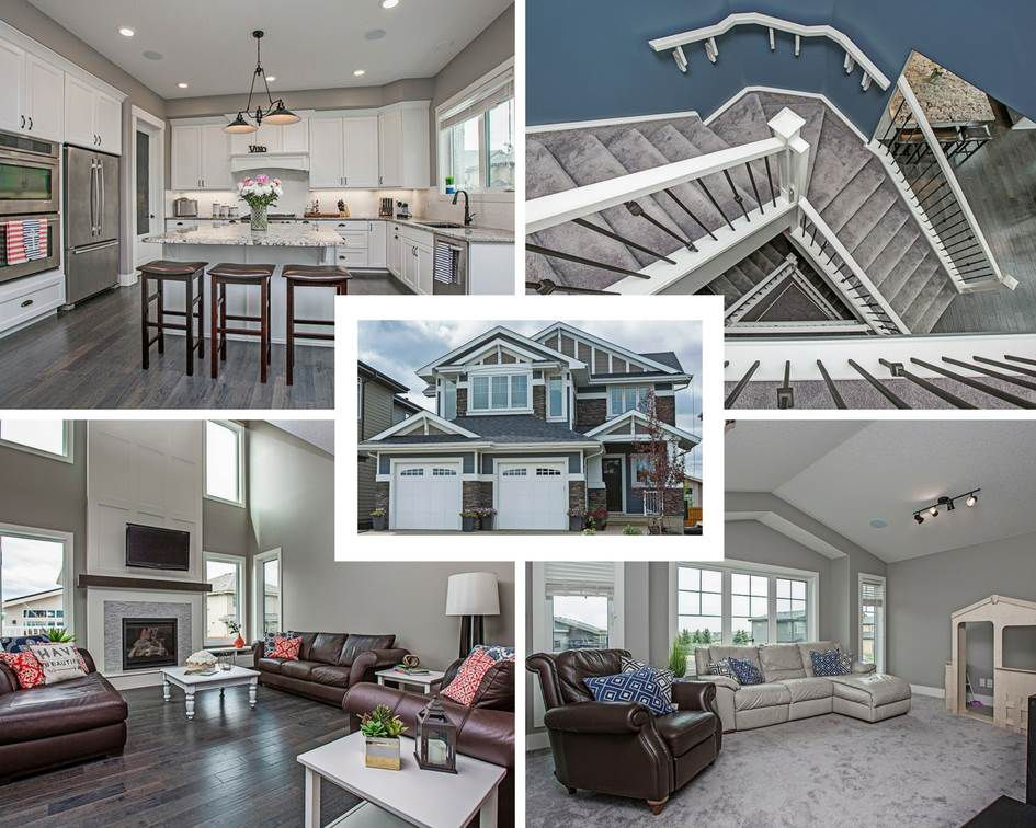 Main Photo: 1112 HAINSTOCK Green SW in Edmonton: Zone 55 House for sale : MLS®# E4150389