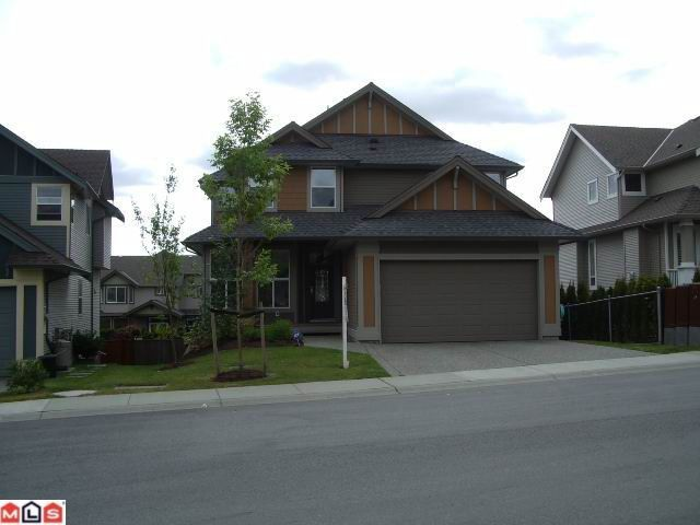 """Main Photo:  in Langley: Willoughby Heights House for sale in """"CAMDEN PARK"""" : MLS®# F1200656"""