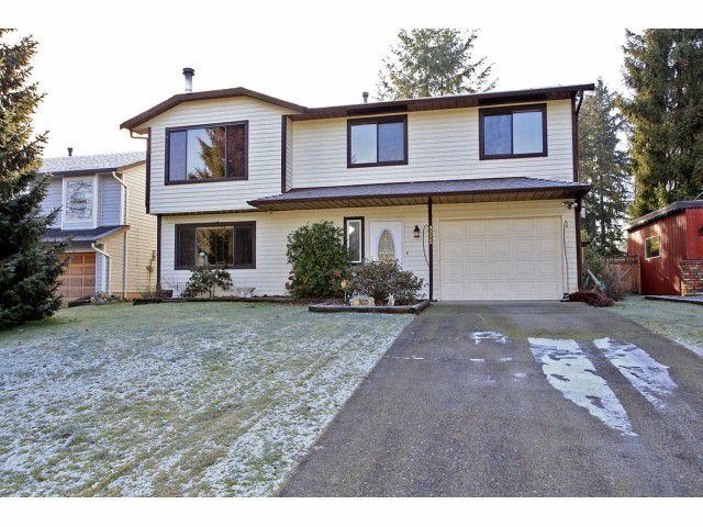 Main Photo: 9225 209A Crescent in Langley: House for sale : MLS®# F1301216