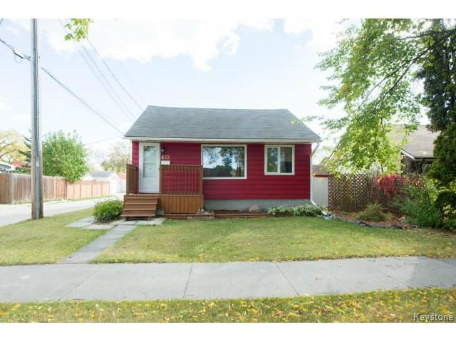 Main Photo: 432 Ravelston Avenue East in WINNIPEG: Transcona Residential for sale (North East Winnipeg)  : MLS®# 1322033