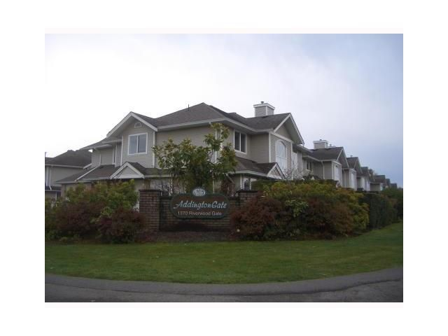 "Main Photo: 31 1370 RIVERWOOD Gate in Port Coquitlam: Riverwood Townhouse for sale in ""ADDINGTON GATE"" : MLS®# V1037834"
