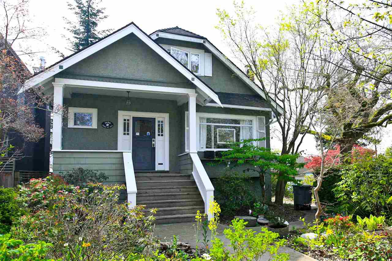 Main Photo: 3496 W 30TH Avenue in Vancouver: Dunbar House for sale (Vancouver West)  : MLS®# R2055322