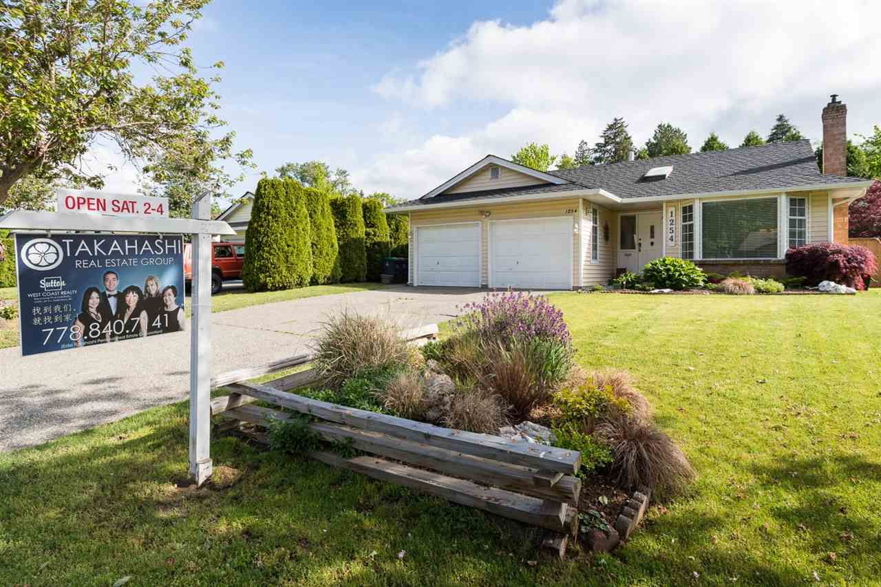 """Main Photo: 1254 163A Street in Surrey: King George Corridor House for sale in """"SOUTH MERIDIAN"""" (South Surrey White Rock)  : MLS®# R2062407"""