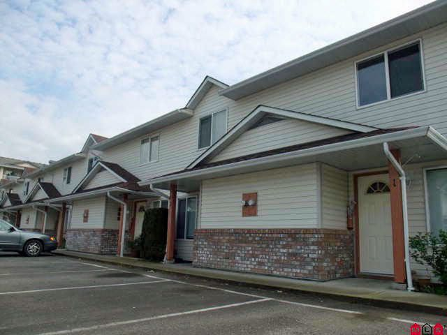 Main Photo: 3 9206 CORBOULD Street in Chilliwack: Chilliwack W Young-Well Townhouse for sale : MLS®# R2102617