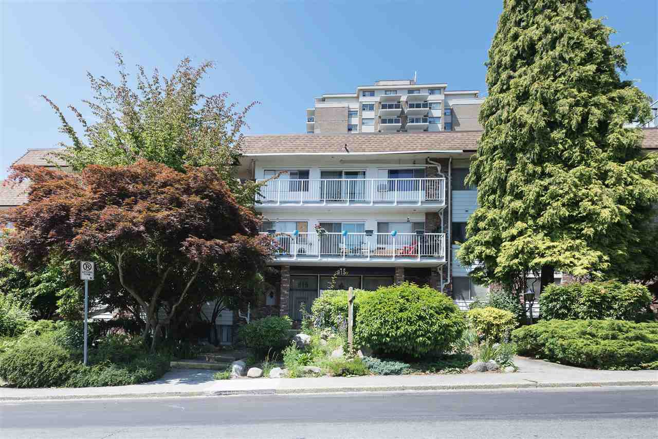 Main Photo: 307 815 FOURTH Avenue in New Westminster: Uptown NW Condo for sale : MLS®# R2183960