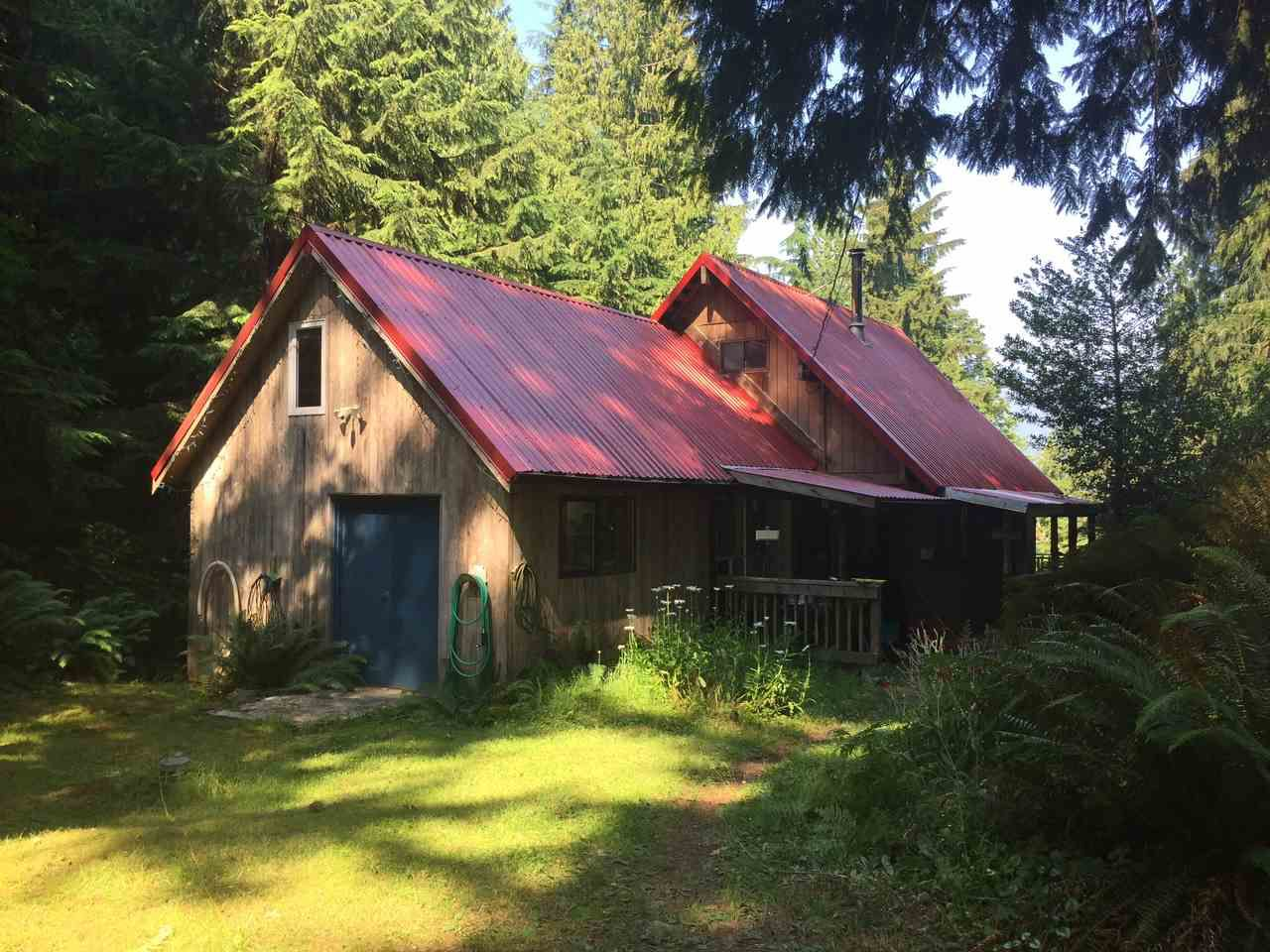 Main Photo: 545 SHAWANABE Road: Gambier Island House for sale (Sunshine Coast)  : MLS®# R2190602