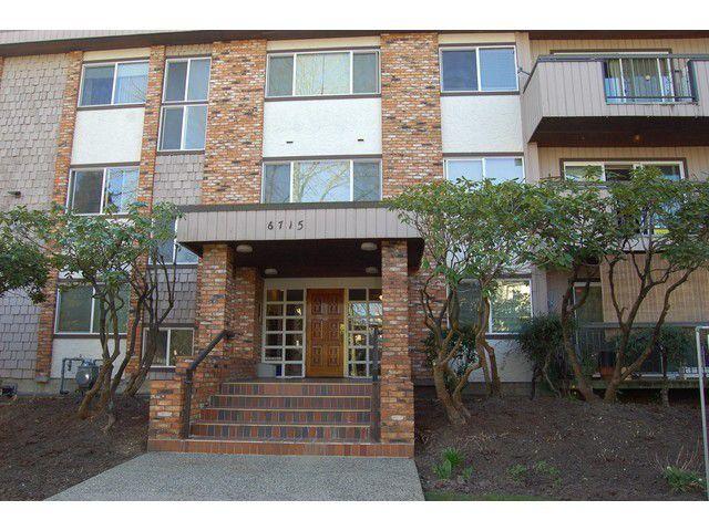 Main Photo: 306 6715 BURLINGTON AV in BURNABY: Home for sale : MLS®# V1110632