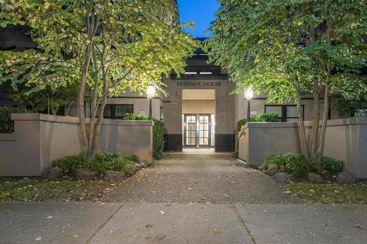 "Main Photo: 309 3760 W 6TH Avenue in Vancouver: Point Grey Condo for sale in ""MAYFAIR HOUSE"" (Vancouver West)  : MLS®# R2243615"