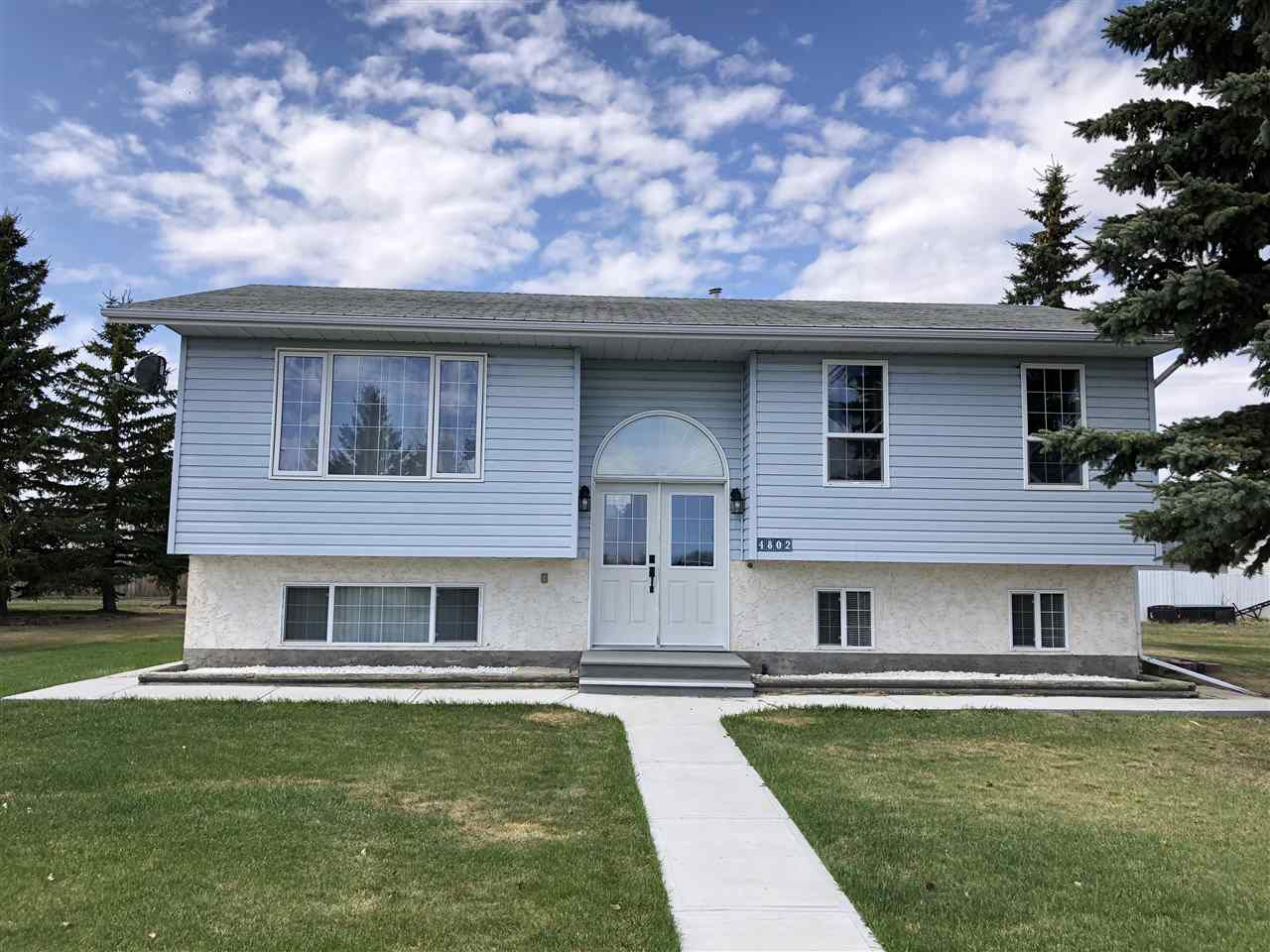 Main Photo: 4802 46A Street: Clyde House for sale : MLS®# E4111848