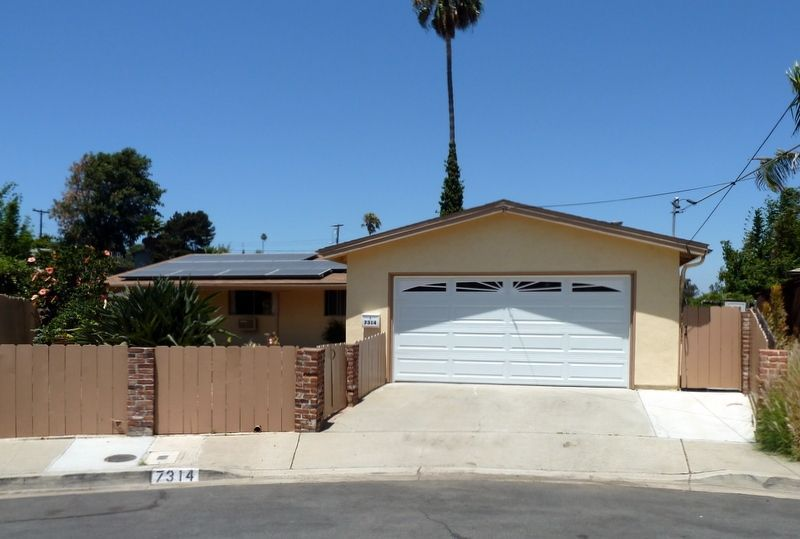 Main Photo: SAN DIEGO House for sale : 3 bedrooms : 7314 Linbrook Pl