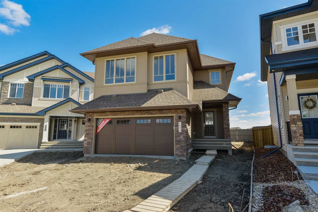 Main Photo: 1511 AINSLIE Place in Edmonton: Zone 56 House for sale : MLS®# E4136661