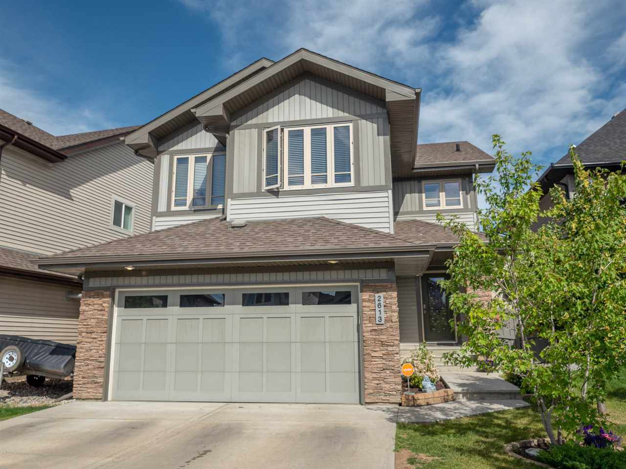 Main Photo: 2613 ANDERSON Crescent in Edmonton: Zone 56 House for sale : MLS®# E4137771