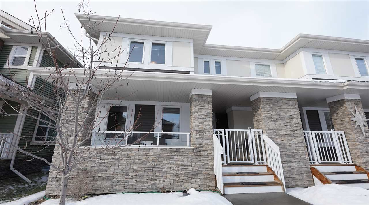 Main Photo: 271 GRIESBACH Road in Edmonton: Zone 27 House Half Duplex for sale : MLS®# E4144479