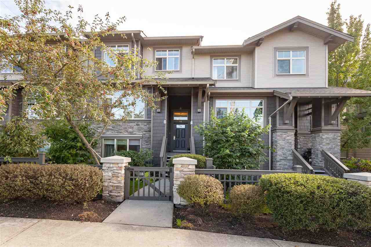 """Main Photo: 18 10605 DELSOM Crescent in Delta: Nordel Townhouse for sale in """"CARDINAL POINTE"""" (N. Delta)  : MLS®# R2369998"""