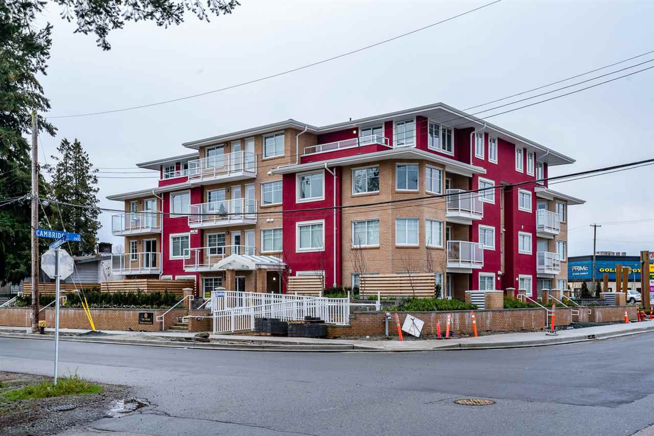 """Main Photo: 205 1990 WESTMINSTER Avenue in Port Coquitlam: Glenwood PQ Condo for sale in """"The Arden"""" : MLS®# R2386262"""