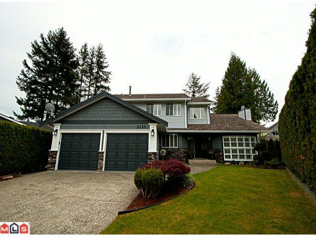 """Main Photo: 2155 152A Street in Surrey: King George Corridor House for sale in """"SUNNYSIDE"""" (South Surrey White Rock)  : MLS®# F1114401"""
