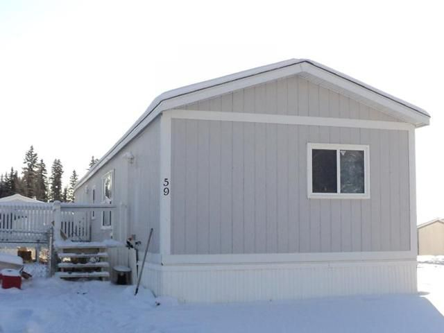 """Main Photo: 59 5701 AIRPORT Drive in Fort Nelson: Fort Nelson -Town Manufactured Home for sale in """"SOUTHRIDGE"""" (Fort Nelson (Zone 64))  : MLS®# N214734"""