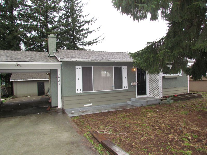 Main Photo: 1637 KIRKLYN ST in ABBOTSFORD: Poplar House for rent (Abbotsford)