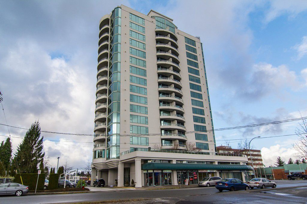 """Main Photo: 1601 32330 S FRASER Way in Abbotsford: Abbotsford West Condo for sale in """"Town Centre Tower"""" : MLS®# F1430127"""