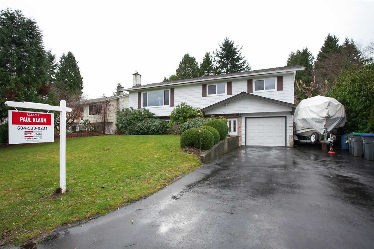 Main Photo: 1923 IRIS Place in Surrey: King George Corridor House for sale (South Surrey White Rock)  : MLS®# R2027218