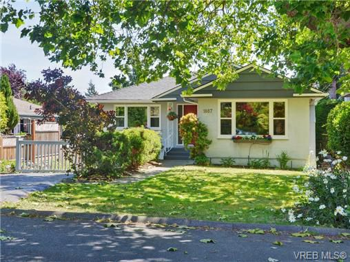Main Photo: 1887 Forrester Street in VICTORIA: SE Camosun Single Family Detached for sale (Saanich East)  : MLS®# 366918