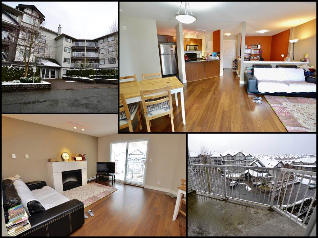 "Main Photo: 412 19340 65 Avenue in Surrey: Clayton Condo for sale in ""Esprit"" (Cloverdale)  : MLS®# R2140096"