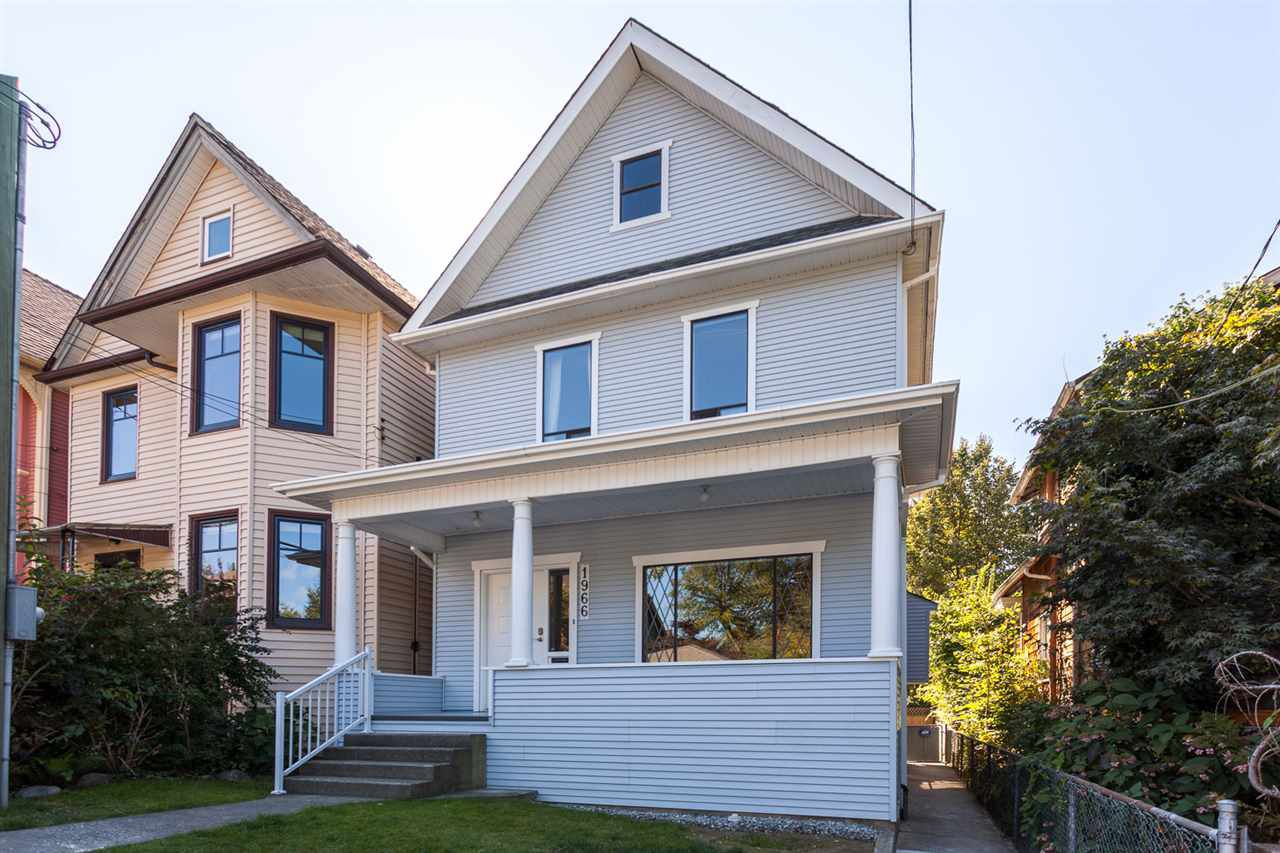 Main Photo: 1966 WILLIAM Street in Vancouver: Grandview VE House for sale (Vancouver East)  : MLS®# R2208634