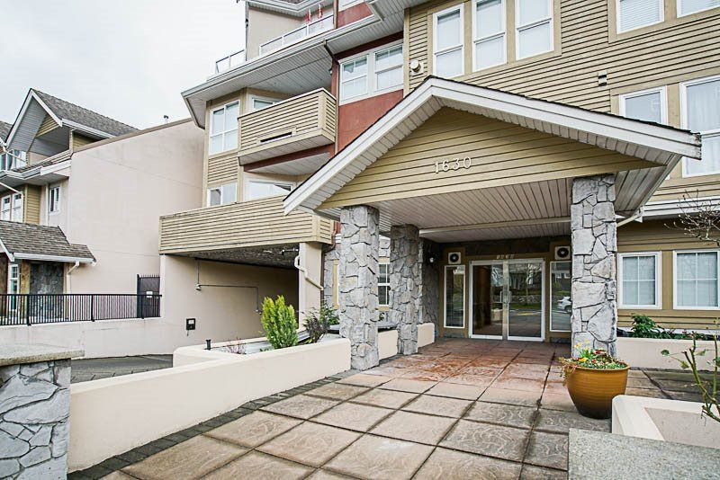"Main Photo: 103 1630 154 Street in Surrey: King George Corridor Condo for sale in ""Carlton Court"" (South Surrey White Rock)  : MLS®# R2243259"