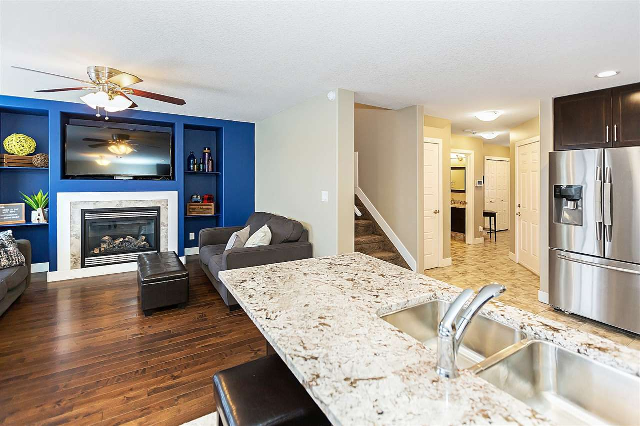 Main Photo: 3120 152 Avenue in Edmonton: Zone 35 House Half Duplex for sale : MLS®# E4140110
