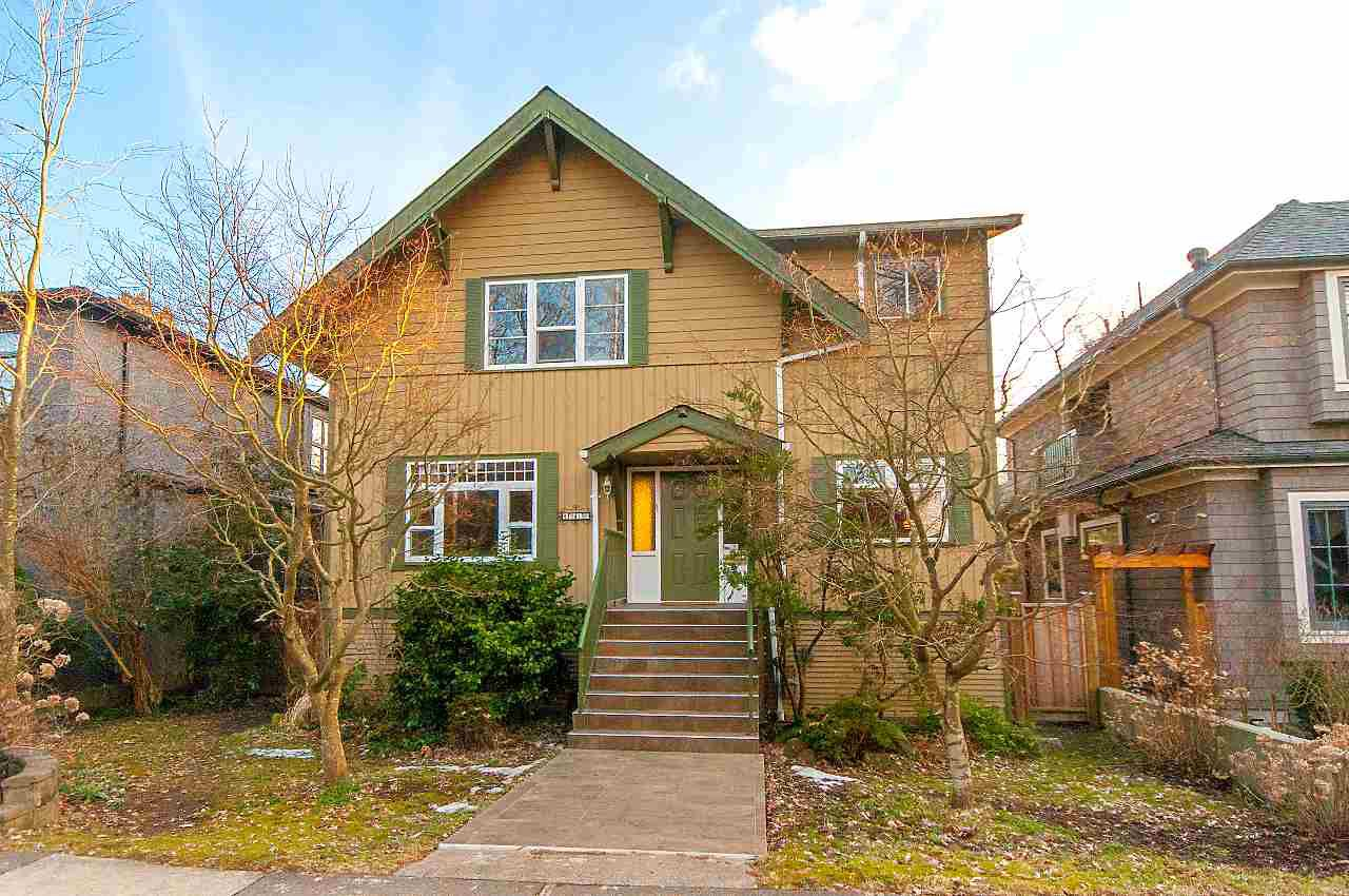 Main Photo: 4318 W 11TH Avenue in Vancouver: Point Grey House for sale (Vancouver West)  : MLS®# R2349289