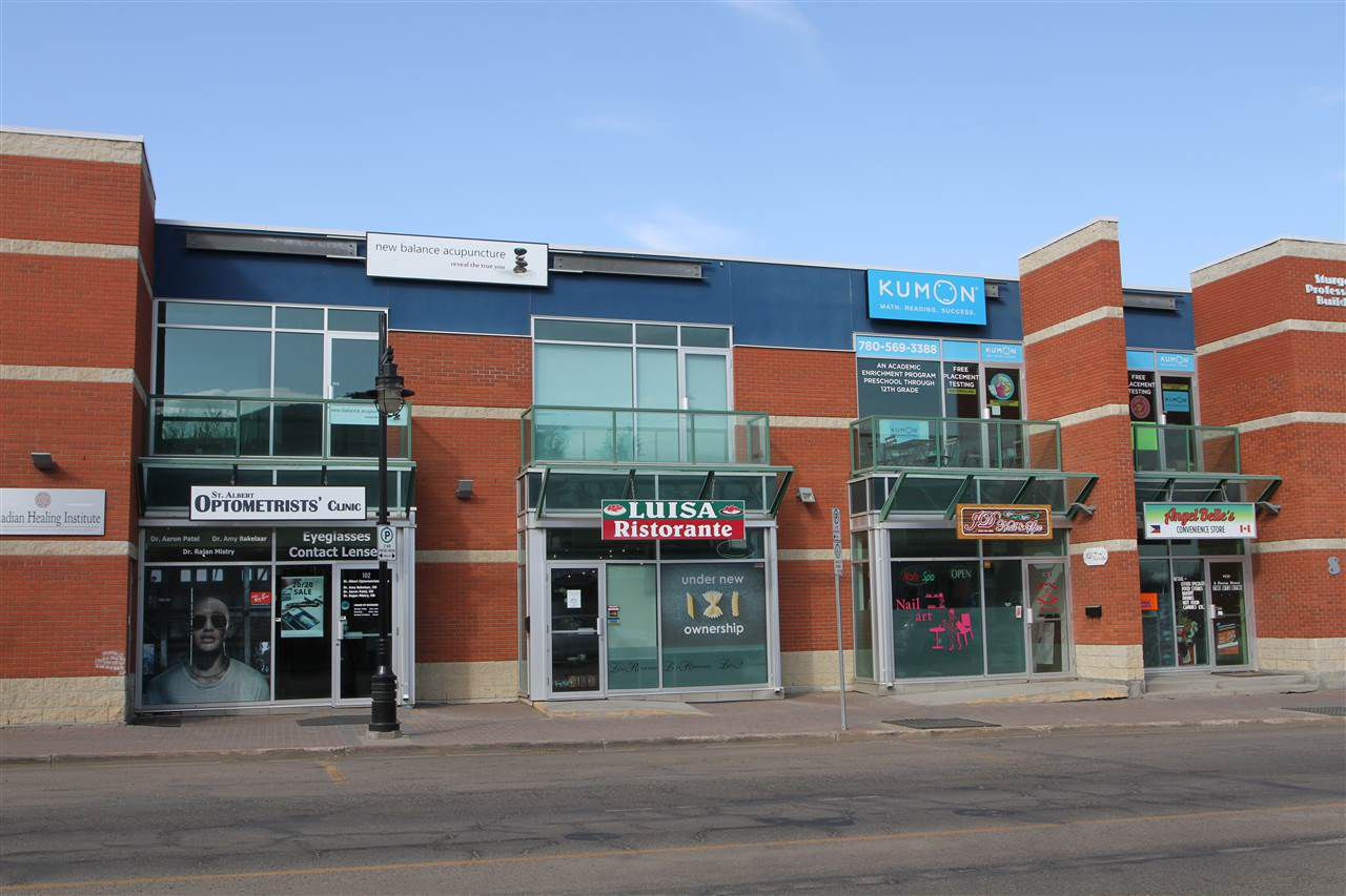 Main Photo: 212 8 Perron Street: St. Albert Office for lease : MLS®# E4156758