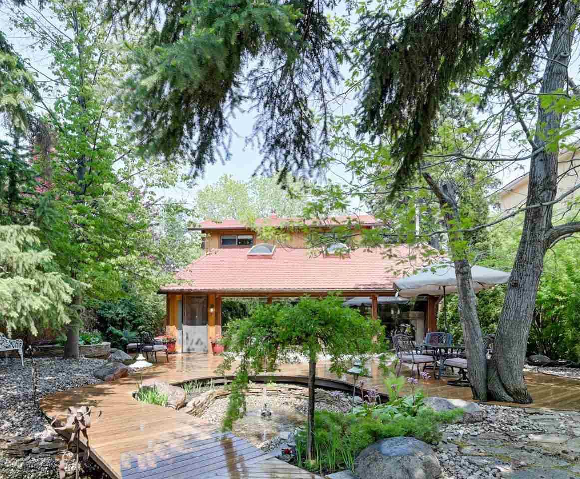 Main Photo: 14228 RAVINE Drive in Edmonton: Zone 21 House for sale : MLS®# E4159628
