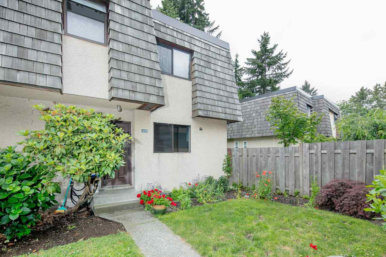 "Main Photo: 1270 PREMIER Street in North Vancouver: Lynnmour Townhouse for sale in ""LYNNMOUR VILLAGE"" : MLS®# R2385607"