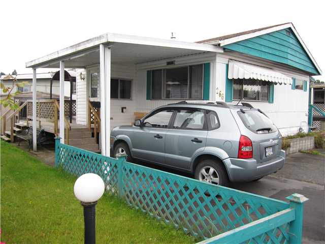 """Main Photo: 266 201 CAYER Street in Coquitlam: Maillardville Manufactured Home for sale in """"WILDWOOD PARK"""" : MLS®# V901750"""
