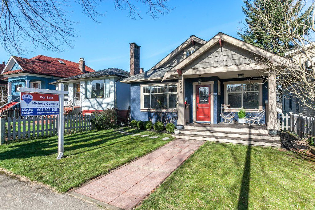 Main Photo: 2229 PARKER Street in Vancouver: Grandview VE House for sale (Vancouver East)  : MLS®# R2036900