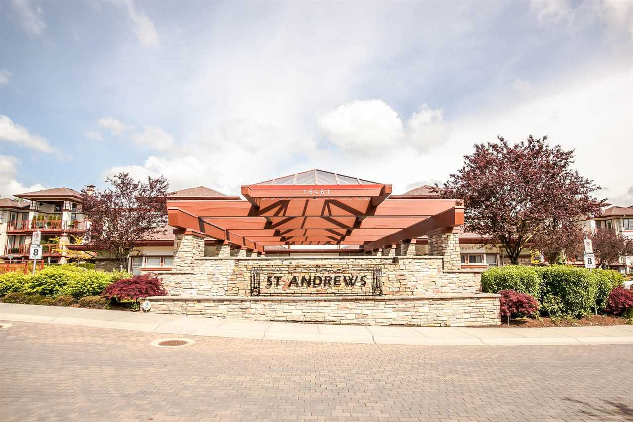"""Main Photo: 203 16477 64 Avenue in Surrey: Cloverdale BC Condo for sale in """"St Andrews"""" (Cloverdale)  : MLS®# R2084408"""