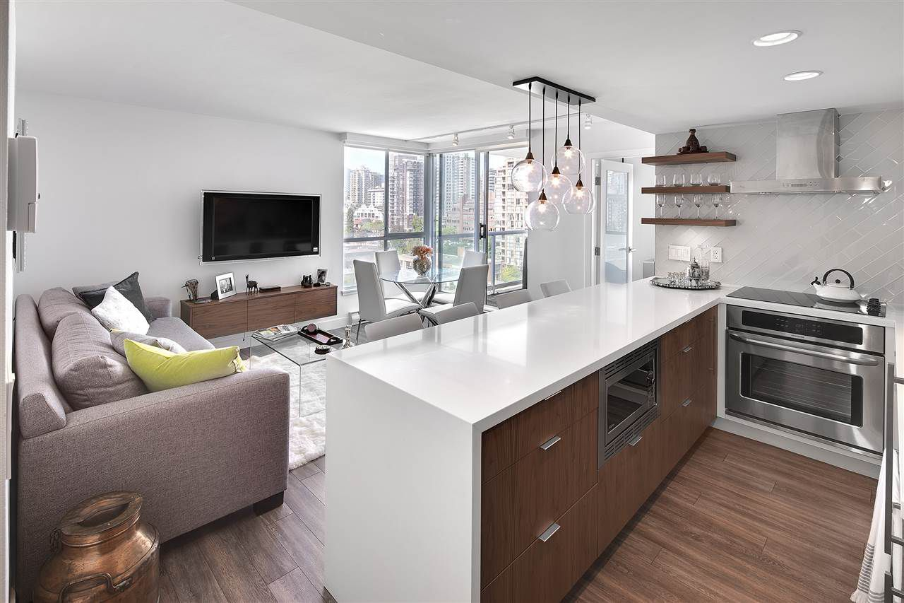 """Main Photo: 1602 1500 HOWE Street in Vancouver: Yaletown Condo for sale in """"THE DISCOVERY"""" (Vancouver West)  : MLS®# R2101112"""