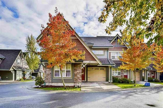 """Main Photo: 31 22977 116 Avenue in Maple Ridge: East Central Townhouse for sale in """"DUET"""" : MLS®# R2225683"""