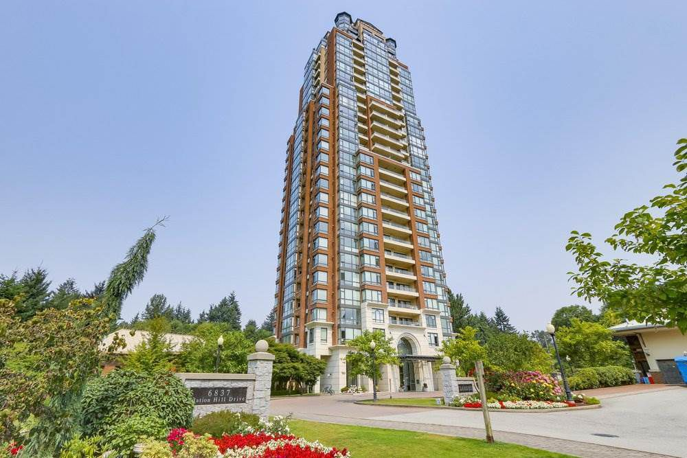 "Main Photo: 1108 6837 STATION HILL Drive in Burnaby: South Slope Condo for sale in ""CLARIDGES"" (Burnaby South)  : MLS®# R2234841"